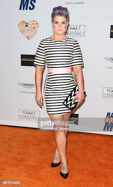 Actress Kelly Osbourne attends the 21st Annual Race to Erase MS at the Hyatt Regency Century Plaza Hotel on May 2 2014 in Century City California
