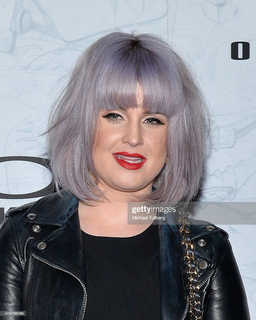 Actress Kelly Osbourne attends the Oakley's Disruptive By Design Launch Event at Red Studios on February 24, 2014 in Los Angeles, California.