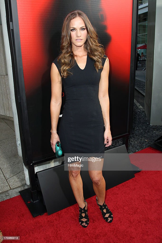 Actress Kelly Overton attends HBO's 'True Blood' season 6 premiere at ArcLight Cinemas Cinerama Dome on June 11, 2013 in Hollywood, California.