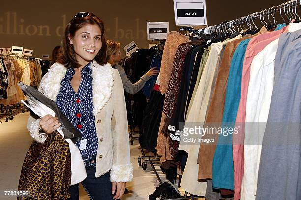 Actress Kelly Paniagua attends the Billion Dollar Babes shopping event at Smashbox Studios on November 9 2007 in West Hollywood California