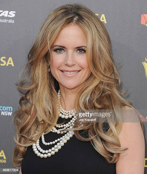 Actress Kelly Preston arrives at the 2015 G'Day USA Gala Featuring The AACTA International Awards Presented By Quantas at Hollywood Palladium on...