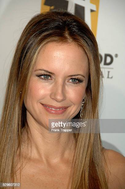 Actress Kelly Preston arrives at The Hollywood Film Festival 11th Annual Hollywood Awards Gala held at the Beverly Hilton Hotel in Beverly Hills