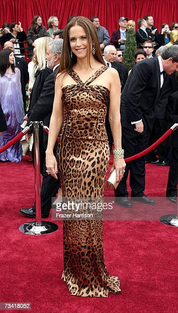 Actress Kelly Preston attends the 79th Annual Academy Awards held at the Kodak Theatre on February 25 2007 in Hollywood California