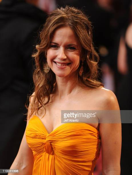 Actress Kelly Preston attends the 80th Annual Academy Awards at the Kodak Theatre on February 24 2008 in Los Angeles California