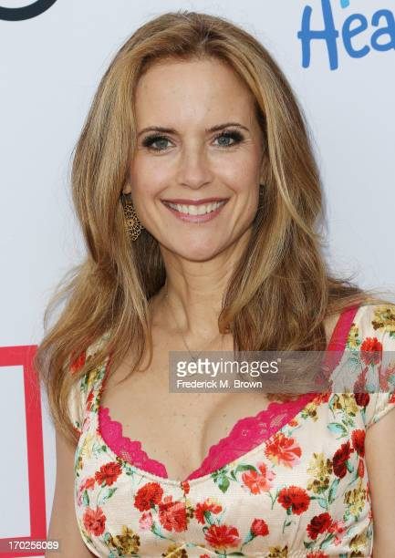 Actress Kelly Preston attends the First Annual Children Mending Hearts Style Sunday on June 9 2013 in Beverly Hills California