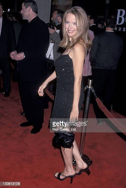 Actress Kelly Preston attends the 'For Love of the Game' Century City Premiere on September 15 1999 at Cineplex Odeon Century Plaza Cinemas in...