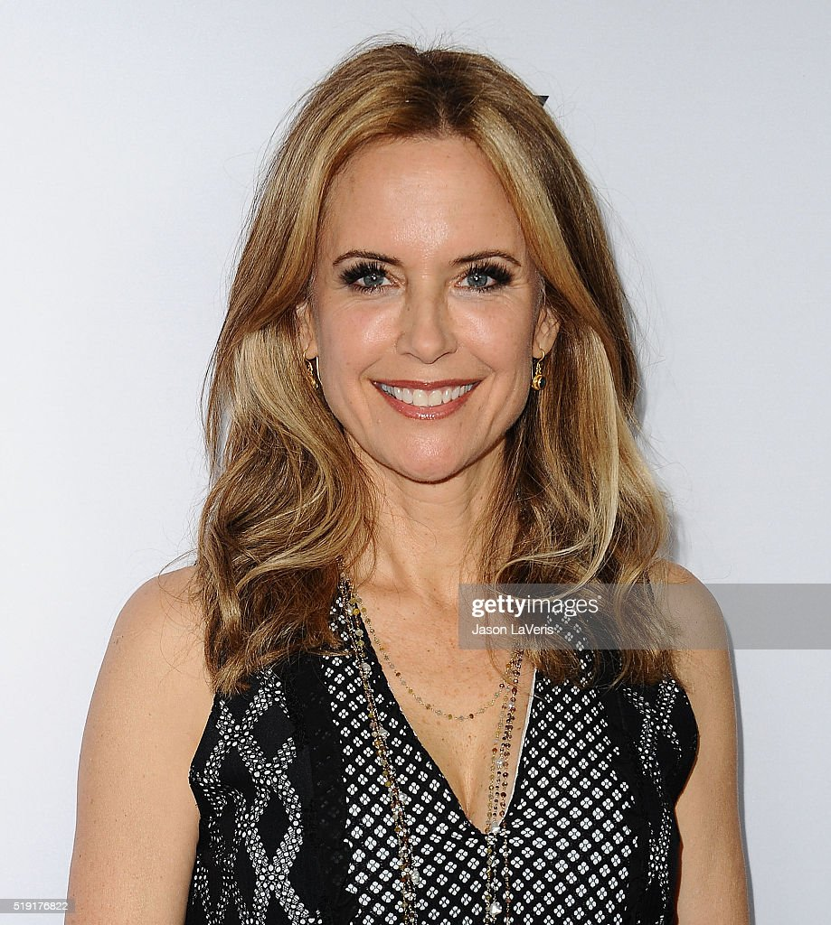 Actress Kelly Preston attends the For Your Consideration event for FX's 'The People v. O.J. Simpson - American Crime Story' at The Theatre at Ace Hotel on April 4, 2016 in Los Angeles, California.