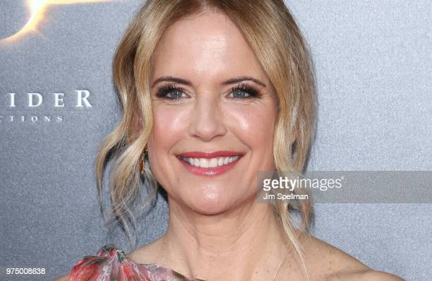 Actress Kelly Preston attends the Gotti New York premiere at SVA Theater on June 14 2018 in New York City