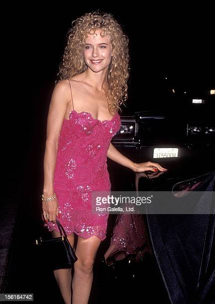 Actress Kelly Preston attends the NAACP Los Angeles Chapter's Ninth Annual Roy Wilkins Award Salute to Eddie Murphy on July 19 1991 at Century Plaza...