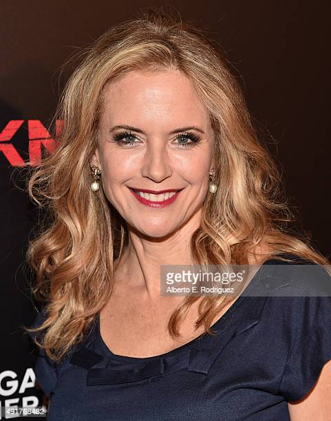 Actress Kelly Preston attends the premiere of Lionsgate's Knock Knock at TCL Chinese 6 Theatres on October 7 2015 in Hollywood California