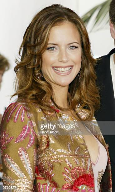Actress Kelly Preston attends the world premiere of Dr Seuss' The Cat in the Hat at Universal Studios November 8 2003 in Hollywood California