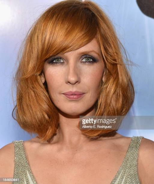 Actress Kelly Reilly arrives to the Los Angeles Premiere of Paramount Pictures' 'Flight' at ArcLight Cinemas on October 23 2012 in Hollywood...