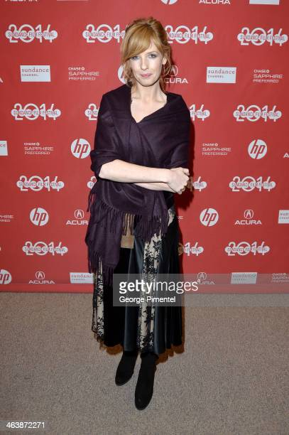 Actress Kelly Reilly attends the Cavalry premiere at Eccles Center Theatre during the 2014 Sundance Film Festival on January 19 2014 in Park City Utah
