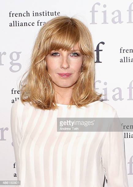 "Actress Kelly Reilly attends the CineSalon sneak preview of ""Chinese Puzzle"" at Florence Gould Hall on April 22, 2014 in New York City."