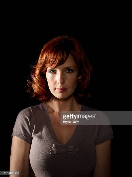 Actress Kelly Reilly is photographed during the filming of the movie Edwin Boyd aka Citizen Gangster on March 16 2011 in Ontario Canada