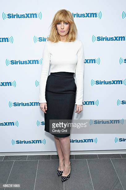 Actress Kelly Reilly visits the SiriusXM Studios on April 23, 2014 in New York City.