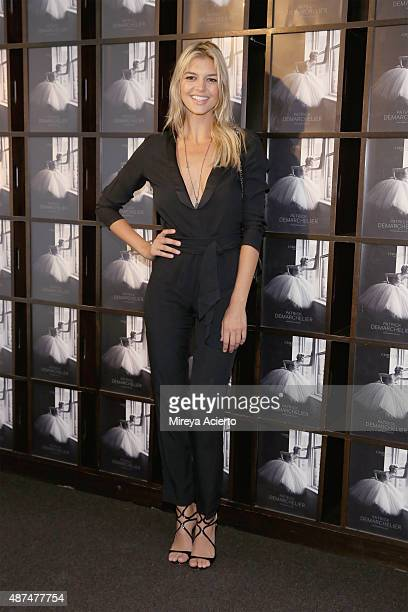 Actress Kelly Rohrbach attends the Patrick Demarchelier Exhibit Fashion Week kick off party at Christie's Auction House on September 9 2015 in New...