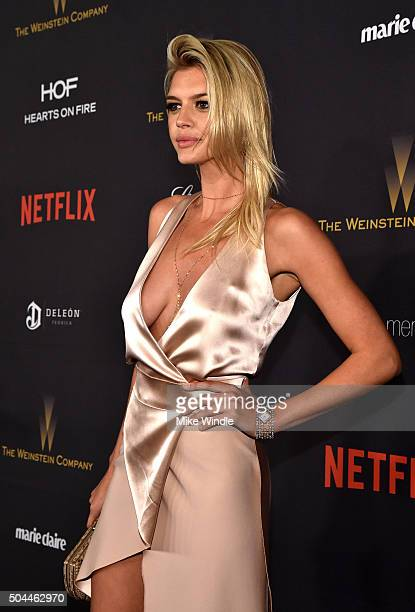 Actress Kelly Rohrbach attends The Weinstein Company and Netflix Golden Globe Party presented with DeLeon Tequila Laura Mercier Lindt Chocolate Marie...