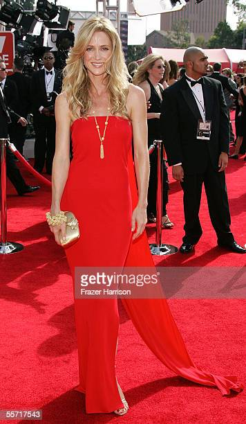 Actress Kelly Rowan arrives at the 57th Annual Emmy Awards held at the Shrine Auditorium on September 18 2005 in Los Angeles California