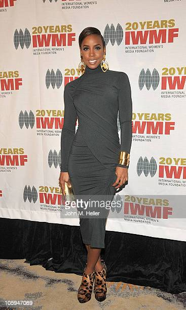 Actress Kelly Rowland attends the International Women's Media Foundation's Courage in Journalism Awards at th Beverly Hills Hotel on October 21 2010...