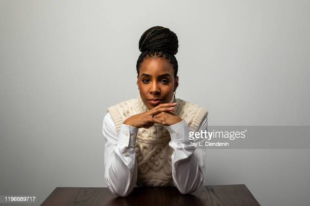 Actress Kelly Rowland from 'Bad Hair' is photographed in the L.A. Times Studio at the Sundance Film Festival on January 24, 2020 in Park City, Utah....