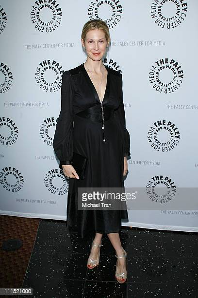 Actress Kelly Rutherford arrives at the 25th Annual Williams S Paley TV Festival featuring 'Gossip Girl' held at Arclight Cinemas on March 22 2008 in...