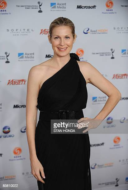 US actress Kelly Rutherford arrives at The 36th International Emmy Awards November 24 2008 in New York AFP PHOTO/Stan HONDA