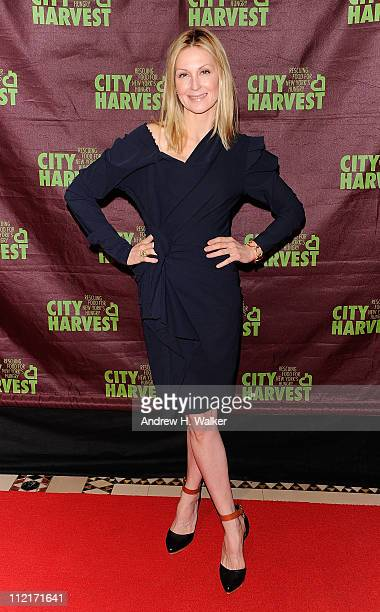 "Actress Kelly Rutherford attends City Harvest's 17th Annual ""An Evening of Practical Magic"" hosted by Cynthia Nixon at Cipriani 42nd Street on April..."
