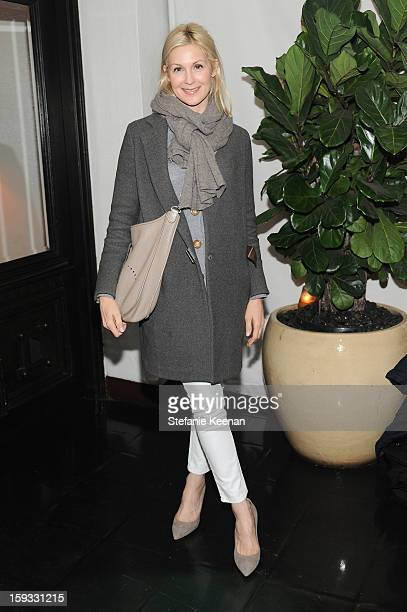 Actress Kelly Rutherford attends Dom Perignon and W Magazine's celebration of The Golden Globes at Chateau Marmont on January 11 2013 in Los Angeles...