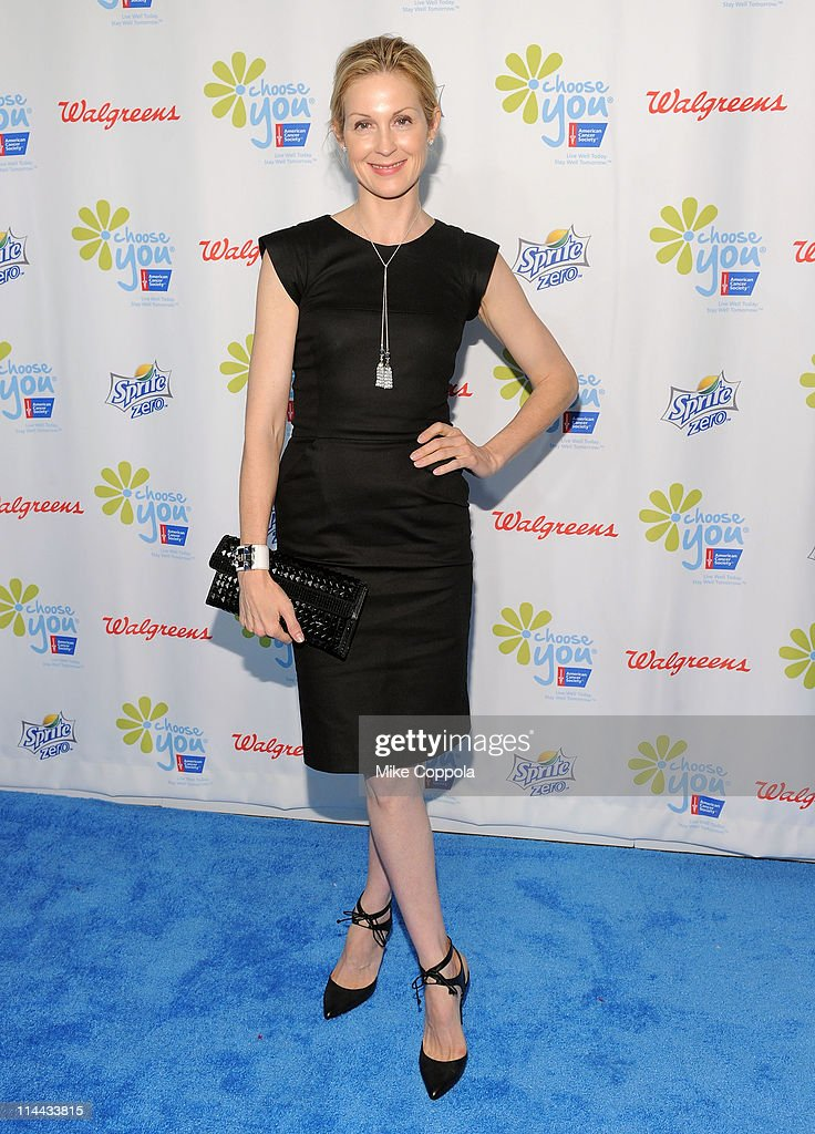Actress Kelly Rutherford attends preview of the first ever 'Choose You' documentary, created by Executive Producer Hilary Swank, alongside 2S Films and Go Go Luckey Entertainment, in colaboration with The American Cancer Society at Metropolitan Pavilion on May 19, 2011 in New York City.