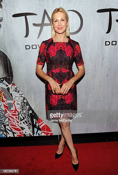 Actress Kelly Rutherford attends TAO Downtown Grand Opening on September 28 2013 in New York City
