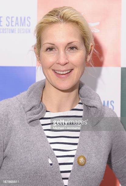 Actress Kelly Rutherford attends the 'Behind The Seams' east coast premiere party at LACOSTE Boutique on May 1 2013 in New York City