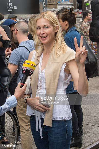 Actress Kelly Rutherford attends the Frieze New York 2015 First Show/Last Show Opening Reception on May 16 2015 in New York City