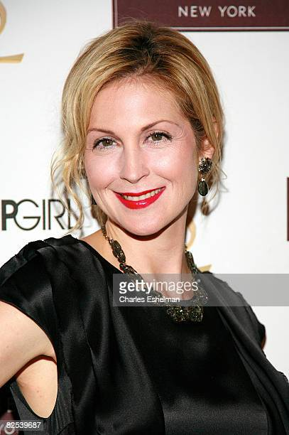 "Actress Kelly Rutherford attends the Henri Bendel and YSL Beaute's celebration of the new season of ""Gossip Girl"" at Henri Bendel on August 24, 2008..."