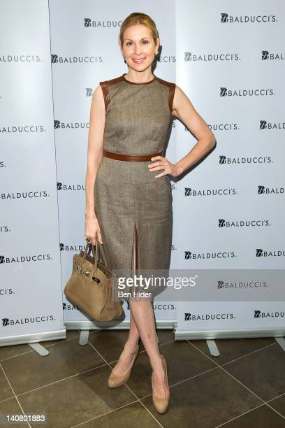 Actress Kelly Rutherford attends the launch of Balducci's Gourmet on the Go Cafe on March 6 2012 in New York City