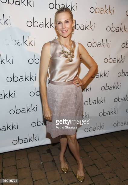 Actress Kelly Rutherford attends the Obakki spring - summer 2010 collection presentation at The Soho Grand - Yard Bar on September 21, 2009 in New...
