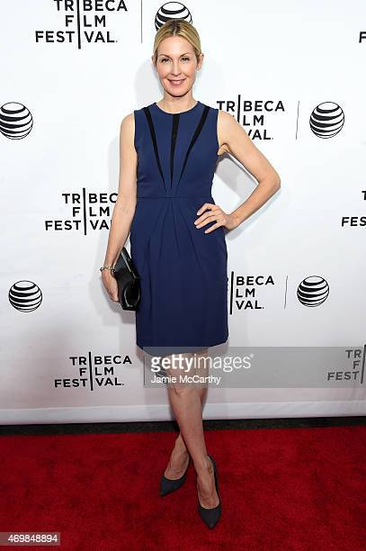Actress Kelly Rutherford attends the Opening Night premiere of Live From New York during the 2015 Tribeca Film Festival at the Beacon Theatre on...