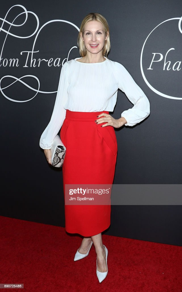 Actress Kelly Rutherford attends the 'Phantom Thread' New York premiere at Harold Pratt House on December 11, 2017 in New York City.