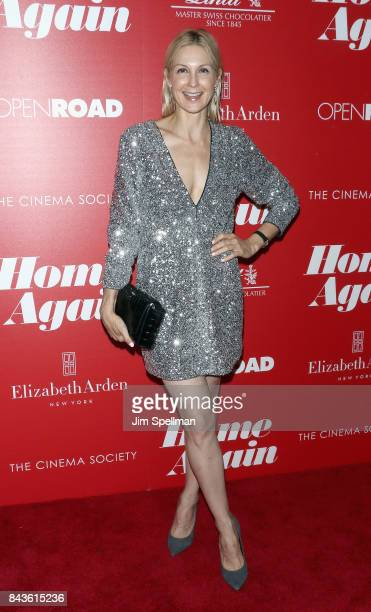 Actress Kelly Rutherford attends the screening of Open Road Films' 'Home Again' hosted by The Cinema Society with Elizabeth Arden and Lindt Chocolate...