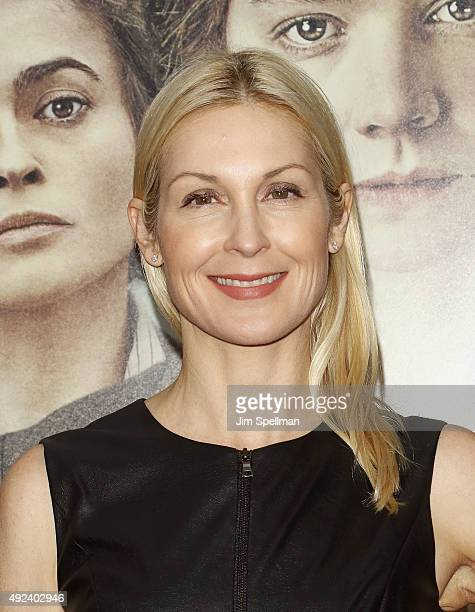 Actress Kelly Rutherford attends the 'Suffragette' New York premiere at The Paris Theatre on October 12 2015 in New York City