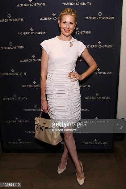 Actress Kelly Rutherford attends the Vacheron Constantin Boutique grand opening on September 20 2011 in New York City