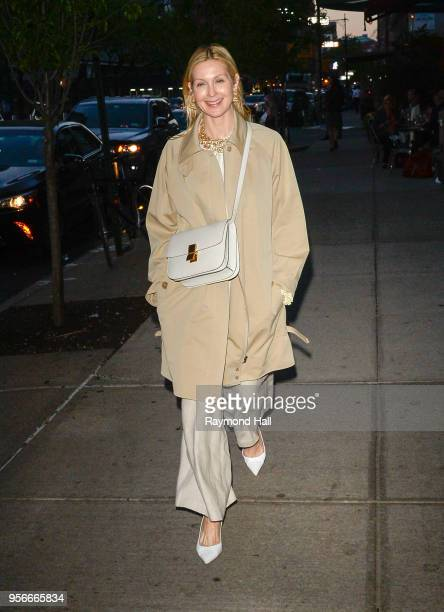 Actress Kelly Rutherford is seen walking in Soho on May 9 2018 in New York City