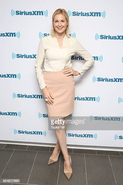 Actress Kelly Rutherford visits the SiriusXM Studios on September 4 2014 in New York City