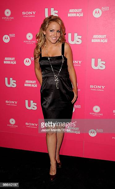 Actress Kelly Stables arrives at the Us Weekly Hot Hollywood Style Issue celebration held at Drai's Hollywood at the W Hollywood Hotel on April 22...