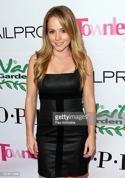 Actress Kelly Stables arrives ath the Nail Garden Brentwood opening party 2nd annual Beauty For A Cause spring toy drive at Nail Garden Brentwood on...