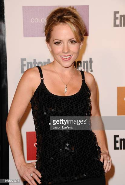 Actress Kelly Stables attends Entertainment Weekly And Women In Film's 7th annual preEmmy party at Restaurant at The Sunset Marquis Hotel on...