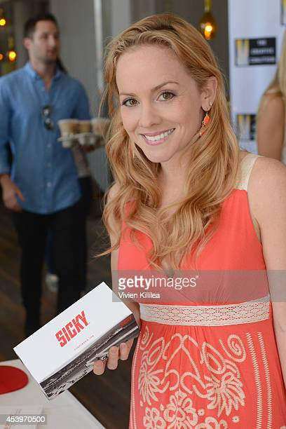Actress Kelly Stables attends Kari Feinstein's Style Lounge presented by Paragon at Andaz West Hollywood on August 22 2014 in Los Angeles California
