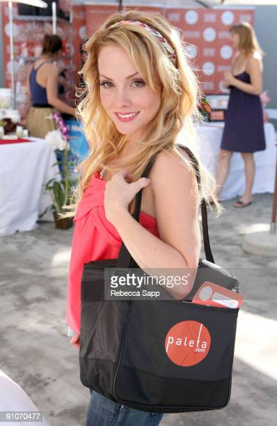 Actress Kelly Stables attends the Kari Feinstein Primetime Emmy Awards style lounge at Zune LA on September 18 2009 in Los Angeles California