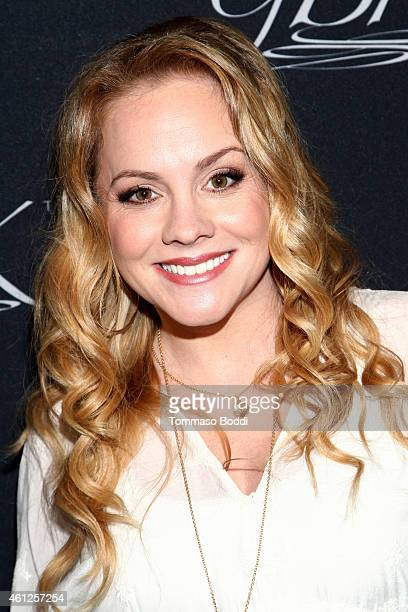Actress Kelly Stables attends the Pilot Pen and GBK Luxury Lounge honoring Golden Globe nominees and presenters held at the W Hollywood on January 9...