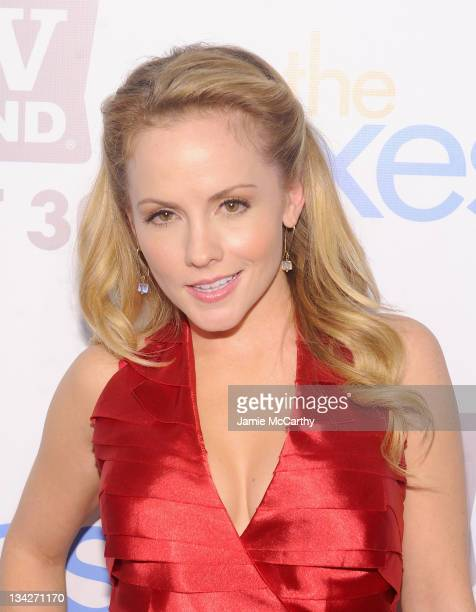 Actress Kelly Stables attends the TV Land holiday premiere party for Hot in Cleveland The Exes at SD26 on November 29 2011 in New York City